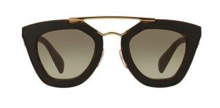 Prada Havana and Brown Saffiano Sunglasses