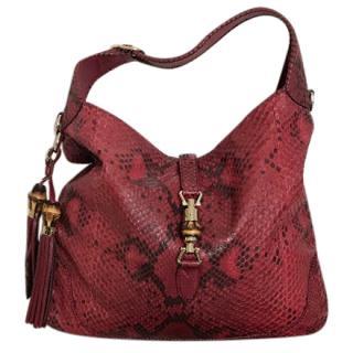 Gucci XL Python Tote Bag