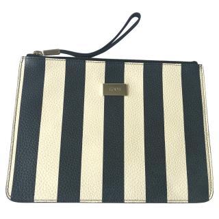 Tod's Striped clutch bag