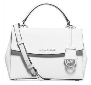 Michael Kors White Ava Bag