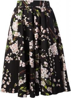 Dolce & Gabbana Cherry Blossom Skirt