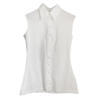 Anne Fontaine Sleeveless Blouse