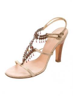 Giuseppe Zanotti Ella 100 jewelled sandals