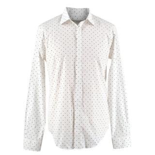 Burberry Men's Heart Print Shirt