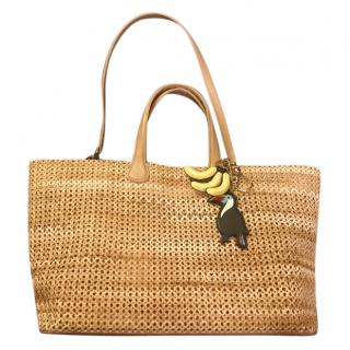 Rodo Wicker Beach Bag