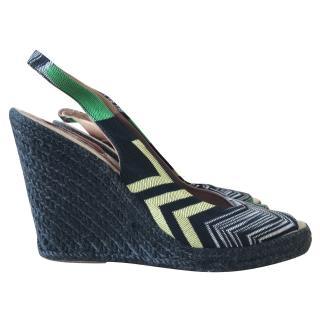 Missoni Wedge Espadrille Sandals