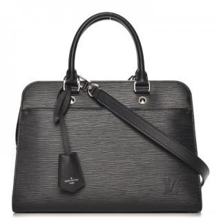 Louis Vuitton Black Epi Vaneau MM Bag