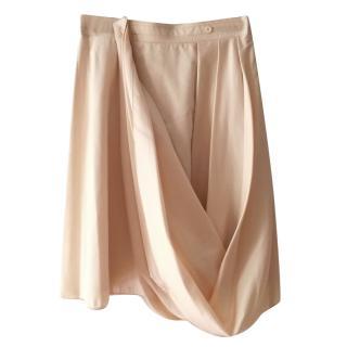 Viktor & Rolf nude panelled skirt
