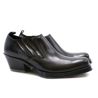 Versace Men's Stivaletto Vitello Shoes