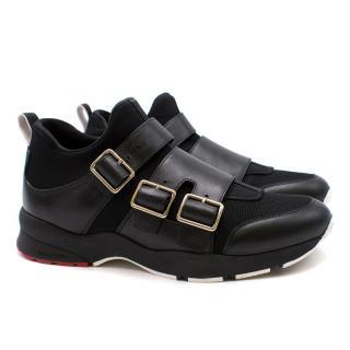 Dior Men's Buckled Sneakers