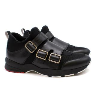 Dior Men's Buckled Sneakers