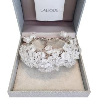 Lalique Rare Muguet Lily of the Valley Crystal Bracelet