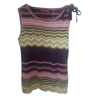 Missoni Wool & Silk Knit Top