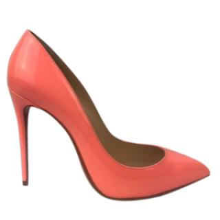 Christian Louboutin Pigalle Follies Flamingo Shoes