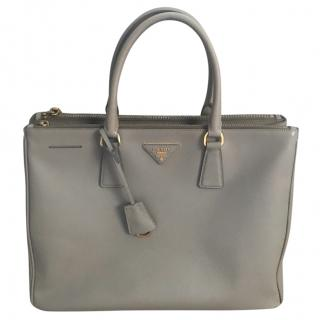 Prada Grey Galleria Tote Bag