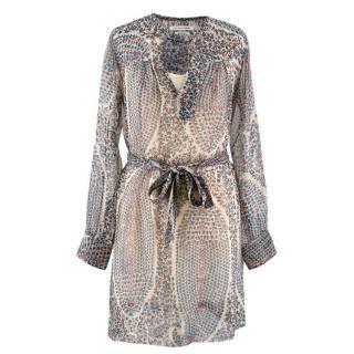 Isabel Marant Etoile Patterned Silk Tunic