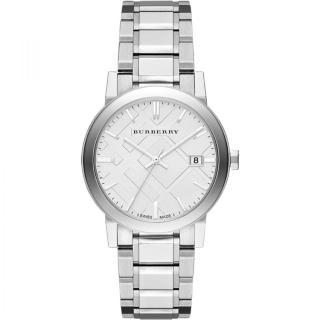 Burberry Silver Dial Stainless Steel BU9000 Quartz Men's Watch