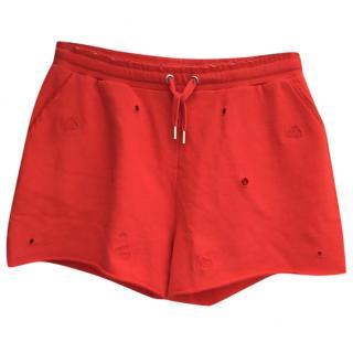 Zoe Karssen red shorts