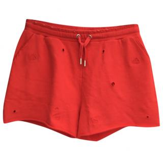 Zoe Karssen red shorts