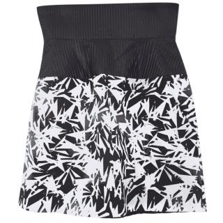 Julian J Smith Silk Smashed Arrows Printed Skirt