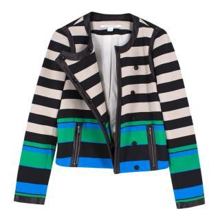 Diane von Furstenberg Striped Jacket
