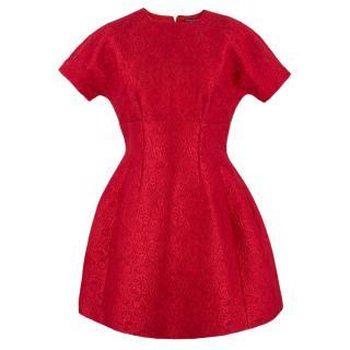 Dolce & Gabbana Silk-Blend Jacquard Dress