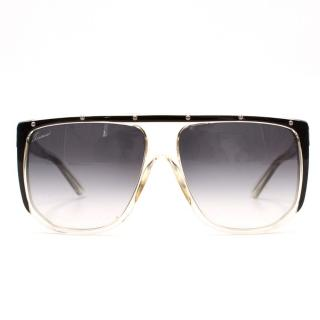 Gucci Large Shaded Mask Sunglasses