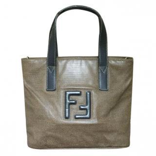 Fendi Olive Tote Bag