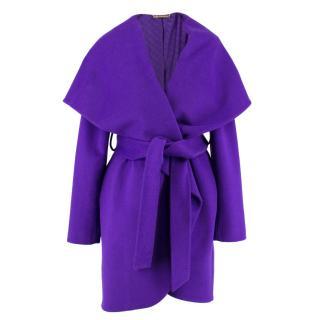 Diane von Furstenburg Wool Wrap Coat