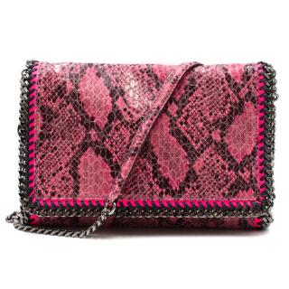Stella McCartney Falabella Python Effect Bag