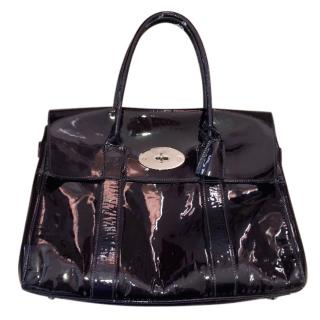 Mulberry Patent Bayswater Tote Bag