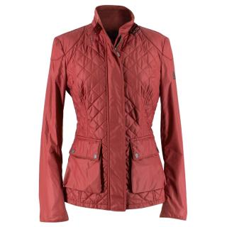 Belstaff Red Quilted Jacket