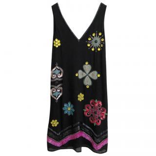 Matthew Williamson vintage embroidered dress