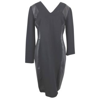 Emilio Pucci Leather Panelled Dress