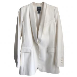 Smythe White Wool Jacket
