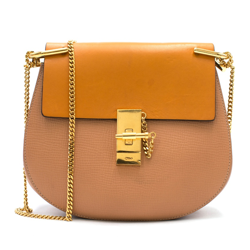 Chloe Classic Tobacco Small Drew Crossbody bag