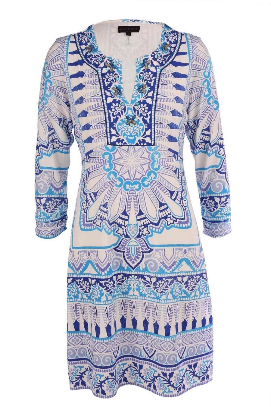 Hale Bob Marah Beaded Jersey Dress