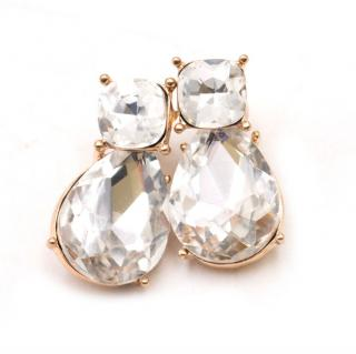 Kenneth Jay Lane Crystal Earrings