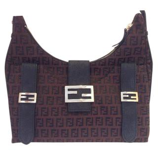 Fendi Zucca Sweet Shoulder Bag