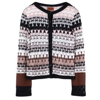 Missoni Knit Zigzag Cardigan