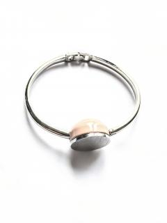 Marc by Marc Jacobs Dusty Pink Inner Sphere Bangle