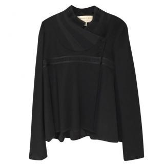 Jasmine di Milo Black Cashmere Jacket