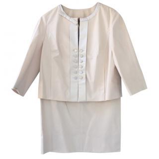 Louis Vuitton cream vintage  suit