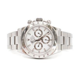 Rolex 40mm Stainless Steel Cosmograph Daytona Watch