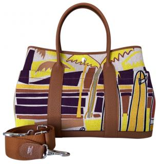 Hermes Rare Limited Edition Garden Party Bag 36