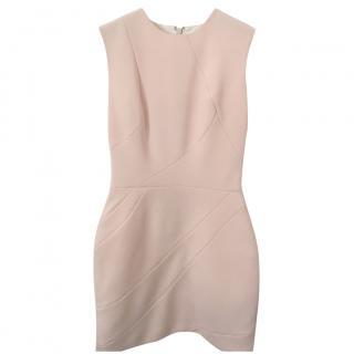 Victoria Beckham Panelled Wool Mini Dress