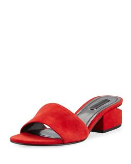 Alexander Wang Lou Sandals Red size 40