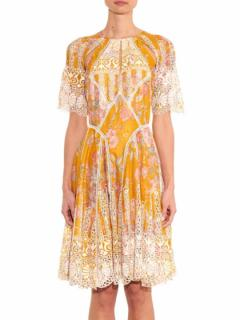 Zimmermann Confetti Scallop Dress