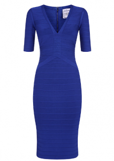 Herve Leger Cybil Bandage Dress