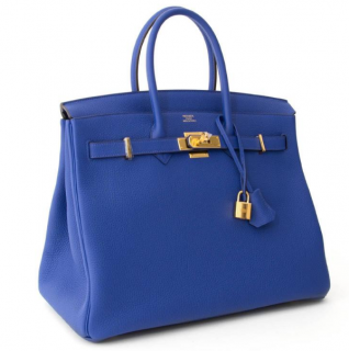Hermes Epsom GHW 35cm Birkin Bag